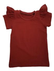 ruffle shirt  roest