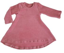 A lijn rib dress ( kleurkeuze)
