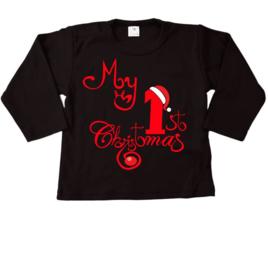 1e  kerst zwart