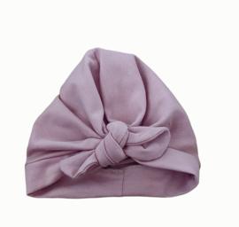 Turban oud roze