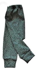 Leopard dusty mint