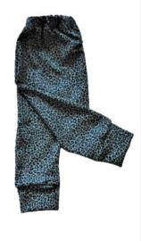 Leopard dusty blue