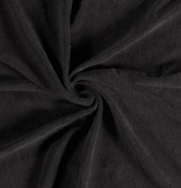Badstof tricot zwart