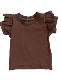 ruffle shirt bruin
