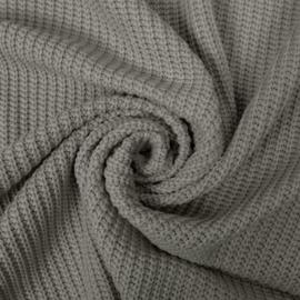 big knit grijs
