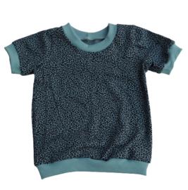 shirt leopard mint