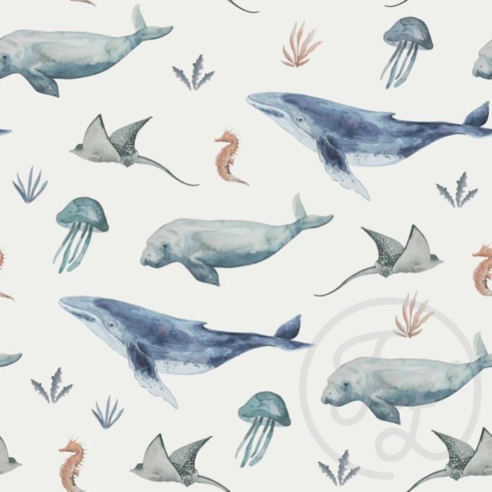 Hoeslaken sealife