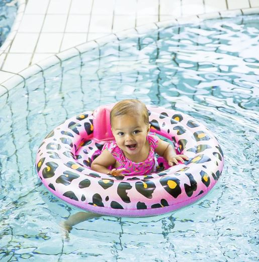 Panterprint Baby float 0-1 jaar Rosé goud
