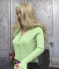 Damesvestje Groene Jade