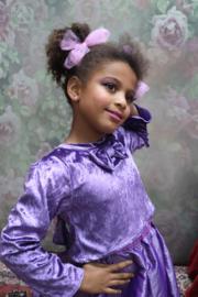Shirt Purple Velours