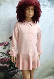 Mini-jurk Plissé