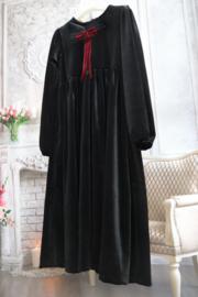 Jurk Black Velvet