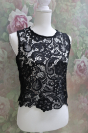Top Black Lace