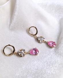 Oorbellen Pink Drop