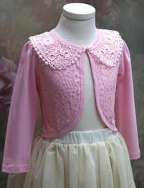 Vestje Pink Lace