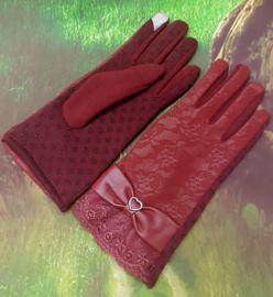Dames Handschoenen Crimson