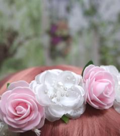 Bloemenkrans Sweet Pink&White