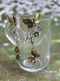 Oorbellen Boho Vlinder