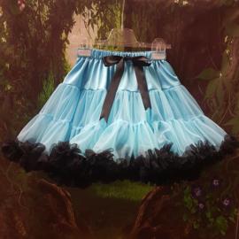 Petticoat  Blue&Black