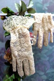 Handschoen Kant Beige