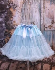 Petticoat Hemelsblauw Queensize