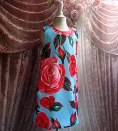 Jurk Rose Art