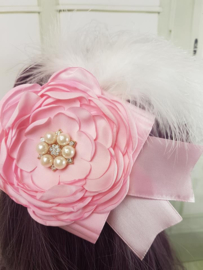 Haarband Rose