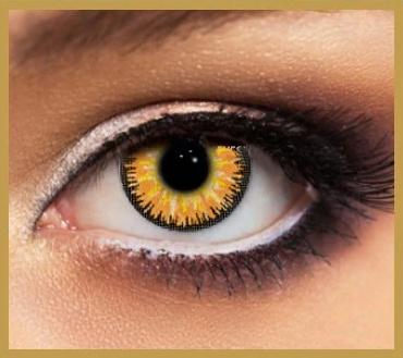 Contactlenzen Bruin | Gold