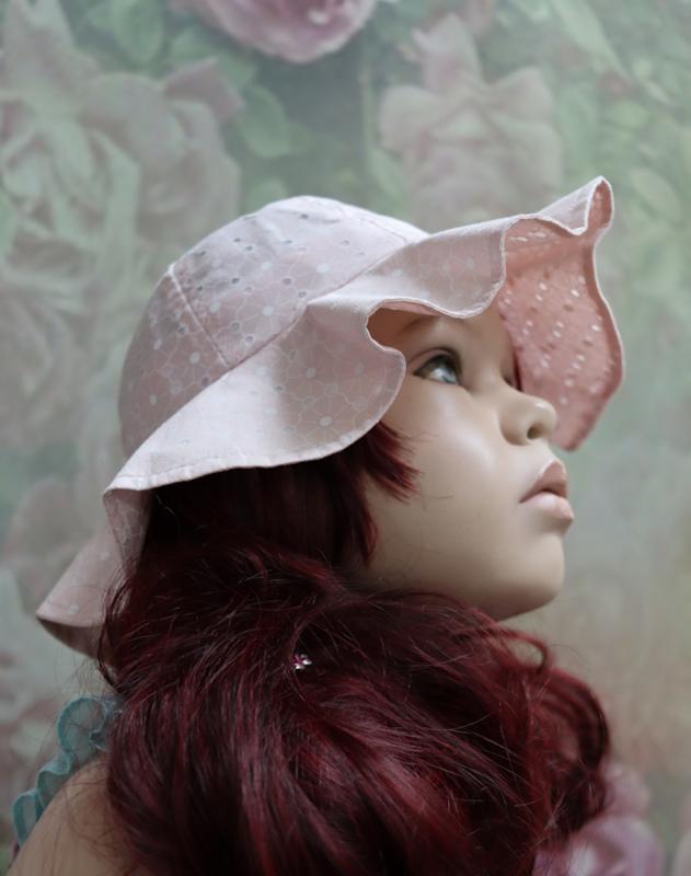 Zomerhoedje Roze