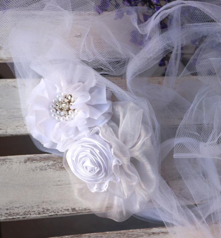 Taille/hoofdband Bride