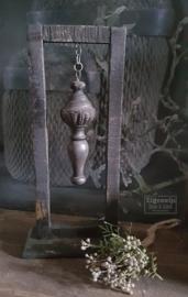 Ornament in raam   Antique Black L