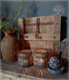 Oud houten luik/paneel