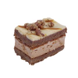 Brownie pecanoten klein gebak