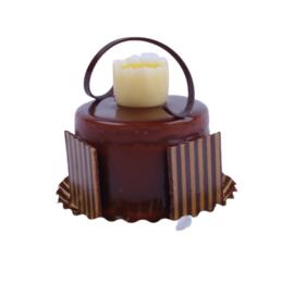 Advokaat chocolade gebak