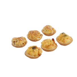Mini quiches 6 stuks