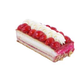Aardbeien cake stam