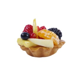 Amandel vers fruit gebak