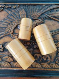 Cup Bamboe set 3 stuks