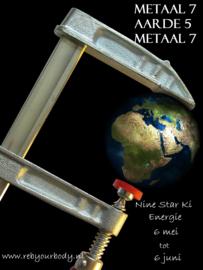 Invloed NSK Energie Metaal 7 - Aarde 5 - Metaal 7