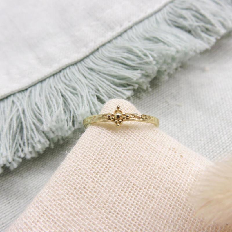 Muja Juma ring diamant vorm
