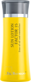 SUN LOTION FACTOR 15 Oil Free (Synthetische filter) Reisverpakking