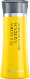 SUN LOTION FACTOR 25 Oil Free (Synthetische filter) Reisverpakking