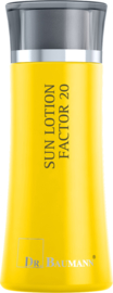 SUN LOTION FACTOR 20 (Synthetische filter) Reisverpakking