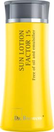 Synthetische zonnefilters (olie vrij) geschikt bij zonneallergie en mallorca acne