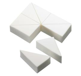 SPONGES LATEXFREE (SPONSJES) 8 Driehoekjes