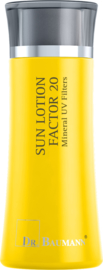 SUN LOTION FACTOR 20 (Minerale filter) Reisverpakking
