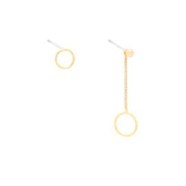 Oorbellen 'Circular' - goud