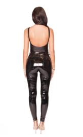 LA Sisters 'Vinyl Pants' - zwart