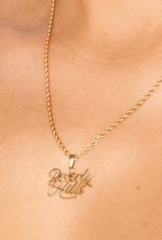 LA Sisters 'Beverly Hills Necklace' - goud