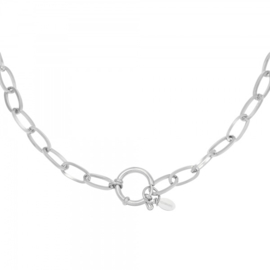Ketting 'Chain Eve' - zilver